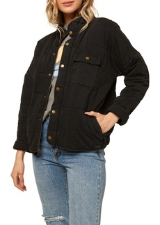 Women's O'Neill Mable Knit Quilted Jacket