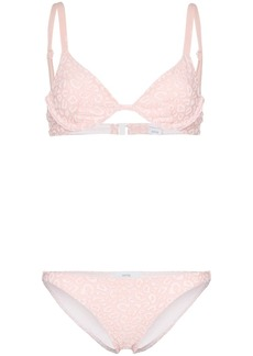 Onia Anina Ashley leopard bikini