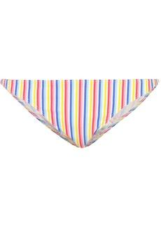 Onia Ashley striped bikini bottoms