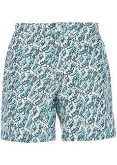 Onia Calder printed swim trunks