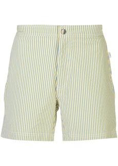 Onia Calder stripe swim shorts