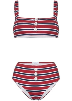Onia Carolina Sam Striped Bikini