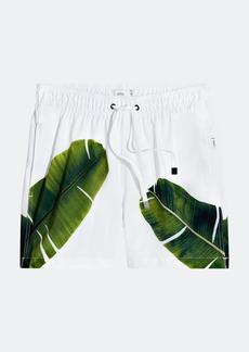 "Onia Charles 5"" Banana Leaves Swim Trunks - XXL - Also in: M, S, L, XL"