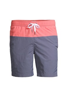 Onia Charles Colorblock Swim Trunks