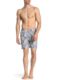 Onia Charles Floral Print Swimming Trunks