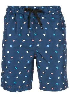 Onia Charles printed swim trunks