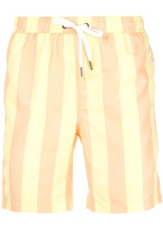Onia Charles striped swim trunks