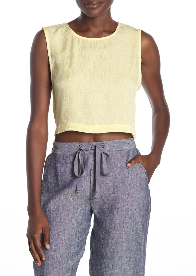 Onia Charlotte Cropped Tank Top