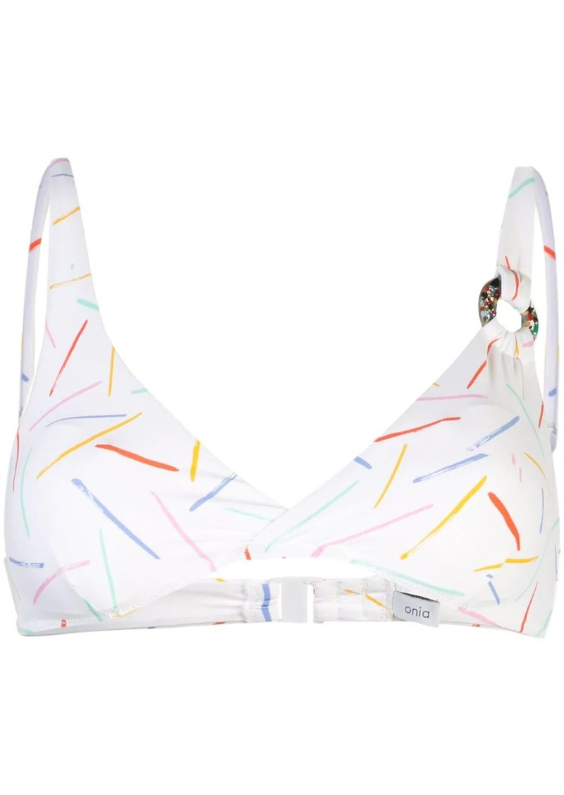 Onia Claire bikini top