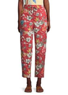 Onia Easy Floral Drawstring Pants