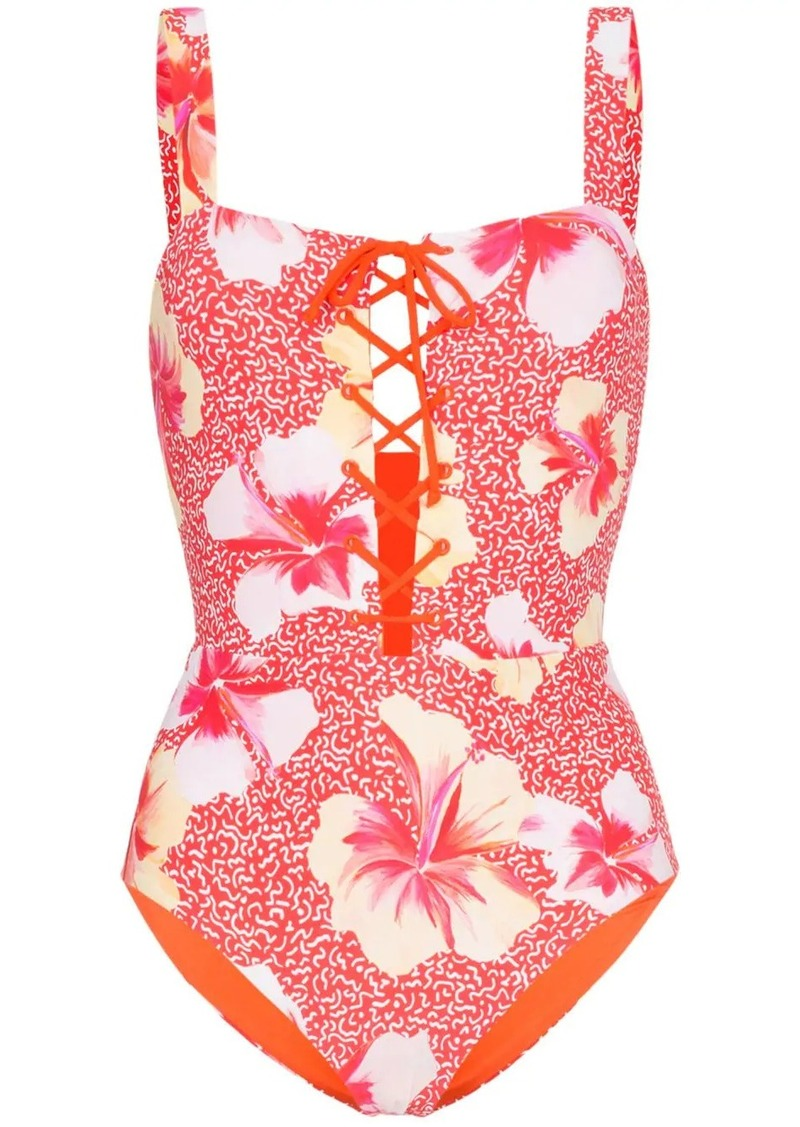 Onia floral print swimsuit