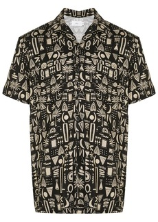 Onia geometric tribal Vacation shirt