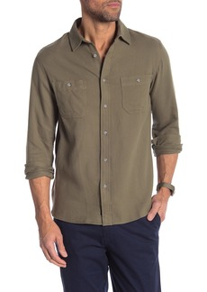 Onia Liam Chest Patch Pocket Relaxed Fit Shirt
