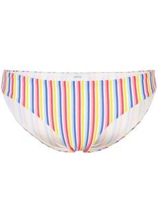 Onia Lily striped bikini bottoms