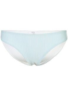 Onia Lily Seersucker bikini bottoms