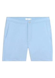 Onia Calder 5-Inch Solid Swim Trunks