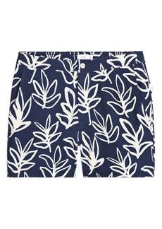 Onia Calder Palm Leaf Swim Trunks
