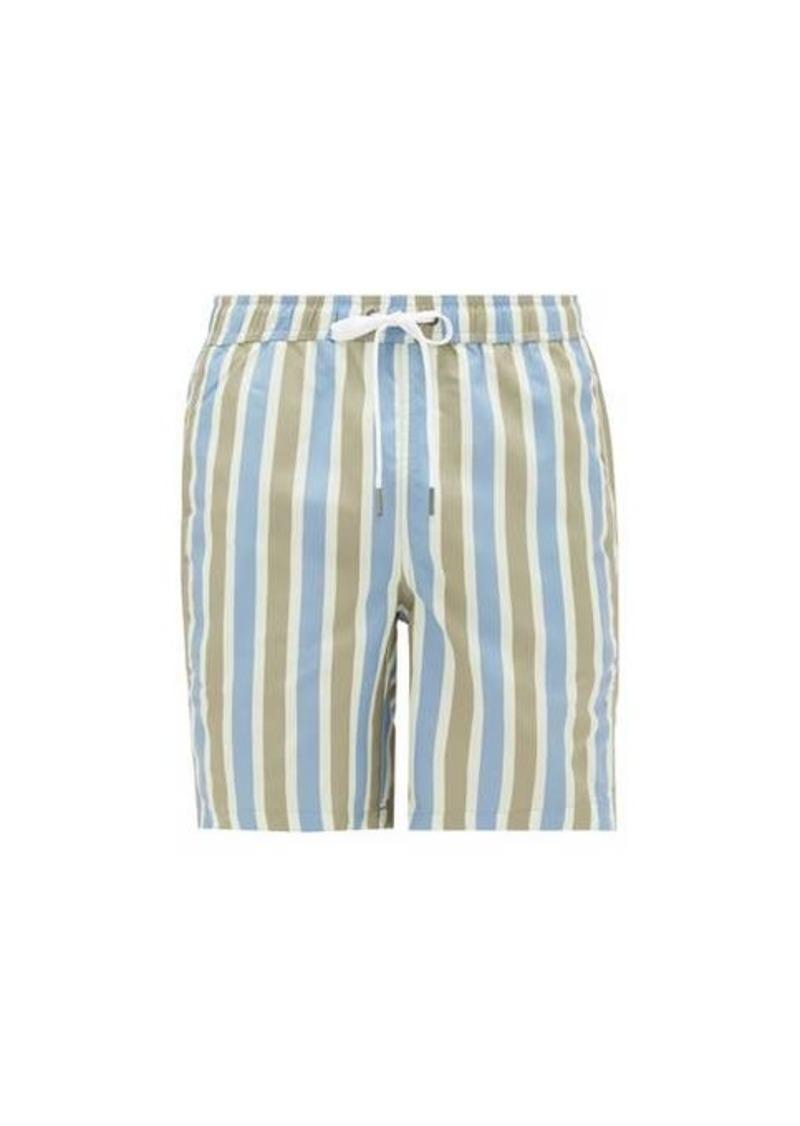 Onia Charles 7 striped swim shorts