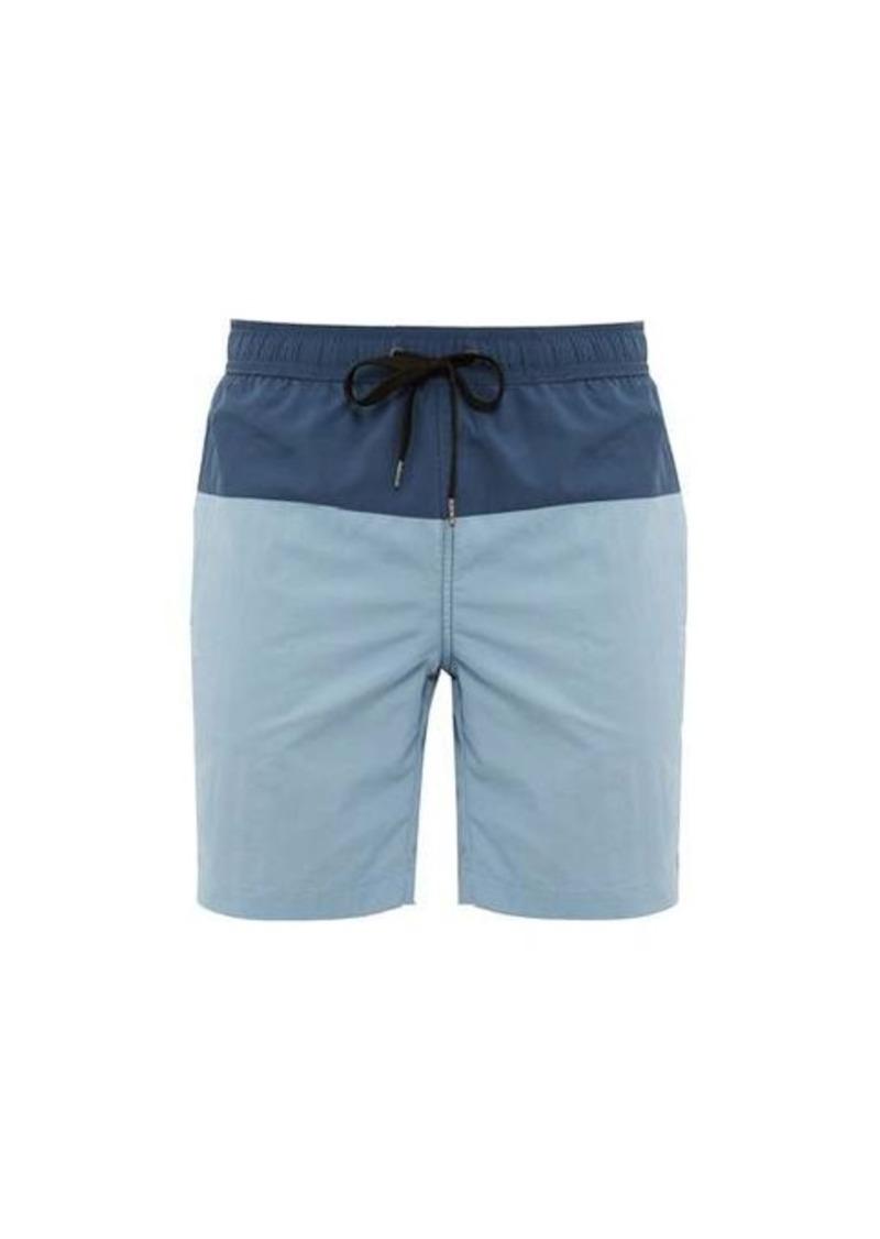 Onia Charles colour-block shell swim shorts