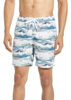 Onia Charles Scenery Swim Trunks