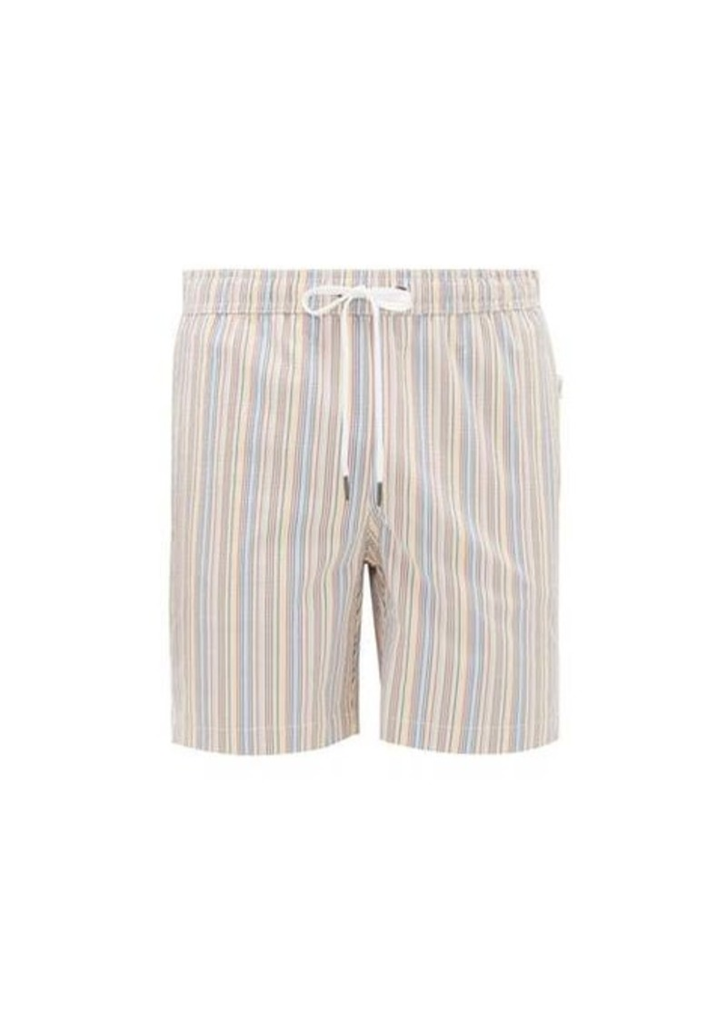 Onia Charles striped swim shorts