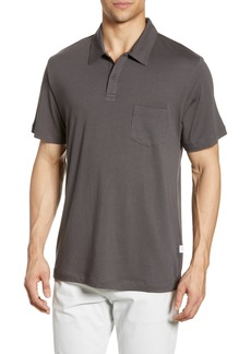 Onia Eric Solid Pocket Polo