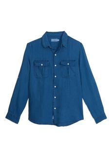 Onia Garrett Linen Button-Up Shirt