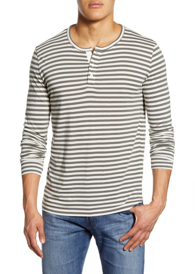 Onia Miles Long Sleeve Stripe Henley
