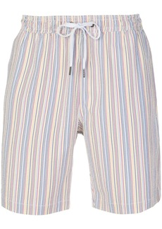 Onia striped swim shorts