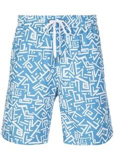 Onia Tribal Masks swim shorts