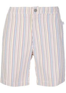 Onia striped print swim shorts