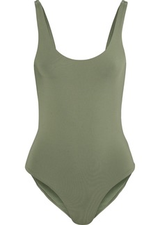 Onia Woman Kelly Swimsuit Army Green