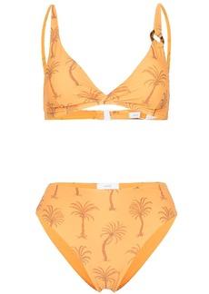 Onia palm tree-print bikini