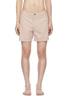 9b149ef83 Onia Pink Calder Swim Shorts