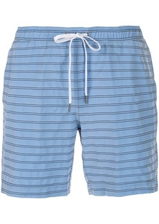 Onia striped swim shorts