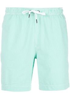 Onia striped swim trunks