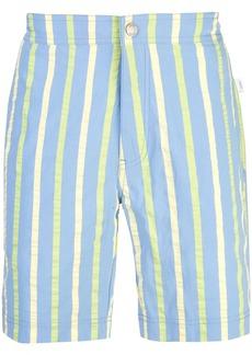 Onia striped swimming shorts