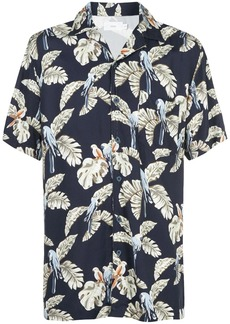 Onia Vacation printed shirt