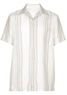 Onia vacation threaded stripe shirt