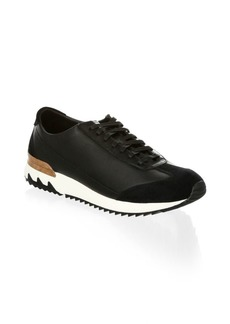 Onitsuka Tiger Lace-Up Leather Running Sneakers