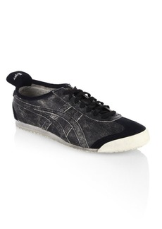 Onitsuka Tiger Mexico Leather & Suede Sneakers