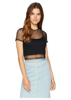 Only Hearts Coucou Lola Cropped Tee