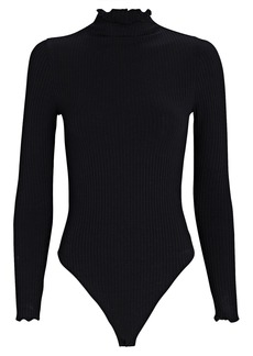Only Hearts Eco Rib Knit Long Sleeve Bodysuit