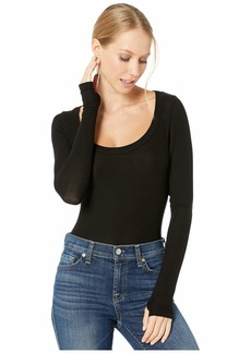 Only Hearts Featherweight Rib Scoop Neck Bodysuit