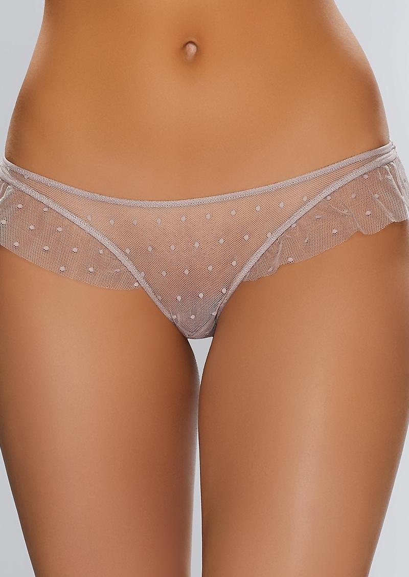 Only Hearts + Coucou Lola Ruffle Thong