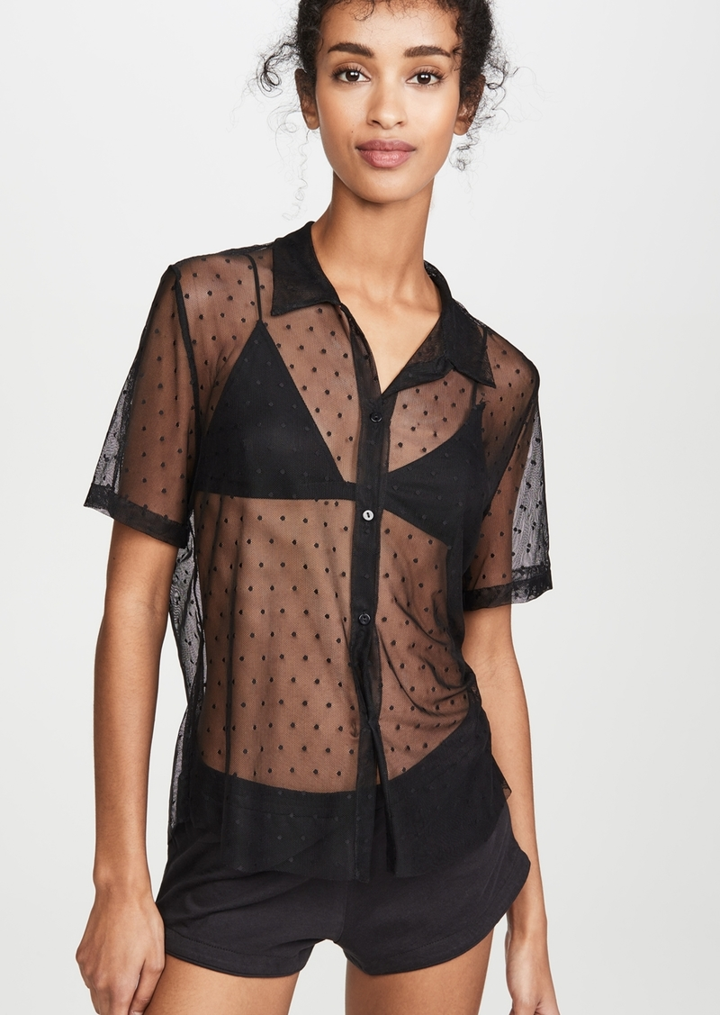Only Hearts Coucou Lola Button Down Top