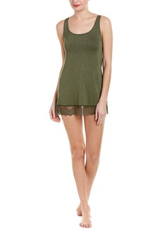 Only Hearts Lace-Trim Tank Tunic