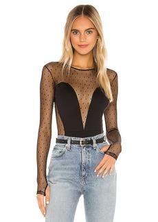 Only Hearts Long Sleeve Corset Bodysuit