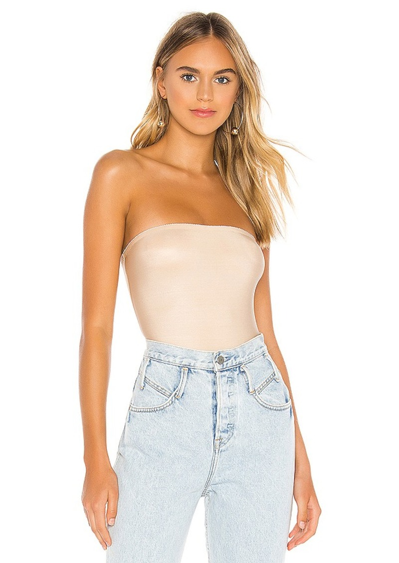 Only Hearts Second Skin Strapless Bodysuit