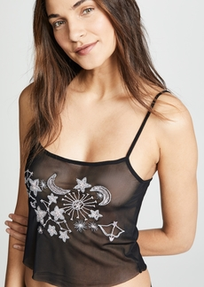 Only Hearts Seeing Stars Sheer Net Cami